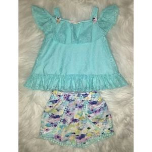 Self Esteem Toddler Girl Matching Set